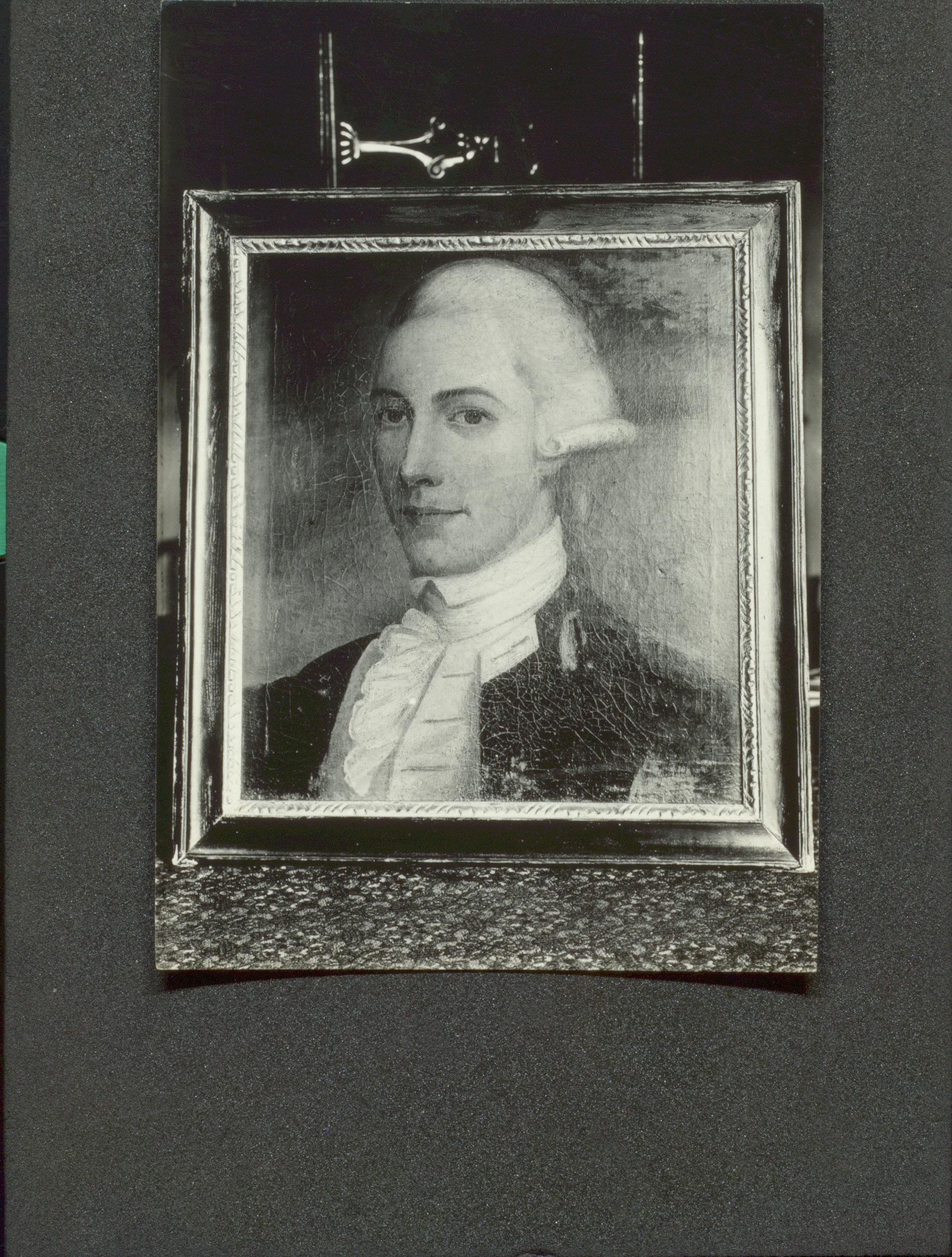 Thought to be self-portrait of William Richardson (University of Toronto Libraries)